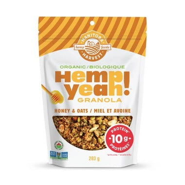 Hemp Granola Honey and Oats (283g)