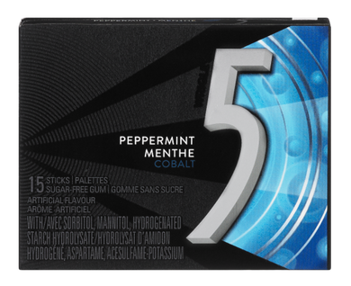 5 Cobalt Gum Peppermint (15/pack)