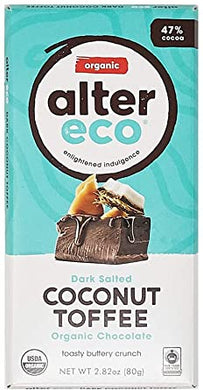 Alter Eco Organic Chocolate Coconut Toffee (80g)