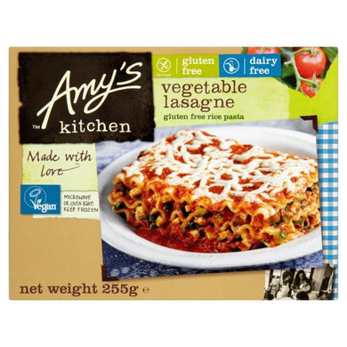 Amy's Kitchen Vegetable Lasagna Entrees Organic (255g)