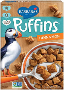 Barbaras Puffins Cereal Cinnamon (283g)