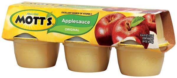 Motts Fruit Pack Original Apple (6/pkg)