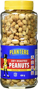 Planters Peanuts Dry Roasted Sea Salt (454g)