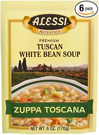 Alessi Tuscan White Bean Soup Mix (170g)