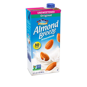 BD Almond Breeze Unsweetened Original Almond Milk (946ml)