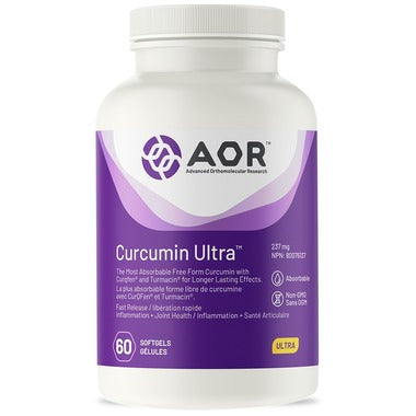 AOR Curcumin Ultra (60 softgels)