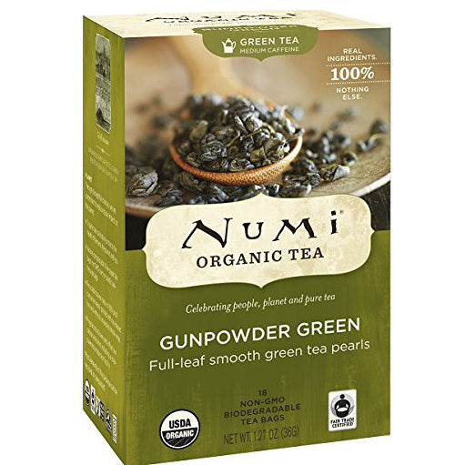 Numi Organic Tea Gunpowder Green (18/pkg)