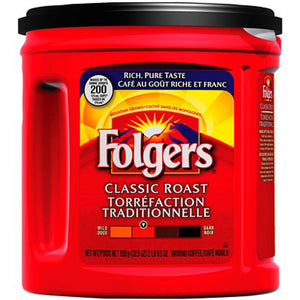 Folgers Coffee Classic Roast (920g)