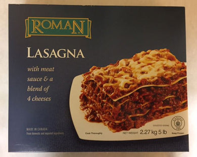 Roman Meat Lasagna 4 Cheese (2.27kg)