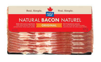 Maple Leaf Natural Bacon - Regular (375g)