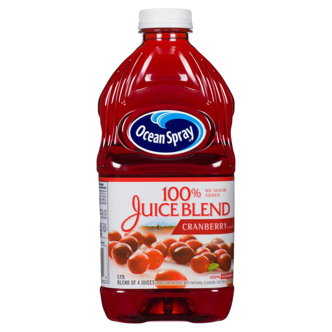 Ocean Spray 100% Cranberry Juice (1.77L)