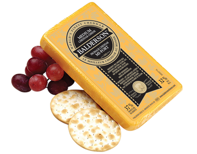 Balderson Medium Cheddar Cheese