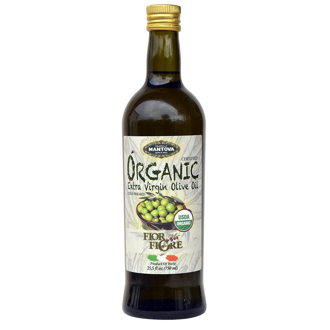 Fratelli Mantova Oil Extra Virgin Olive Oil - Organic (750ml)