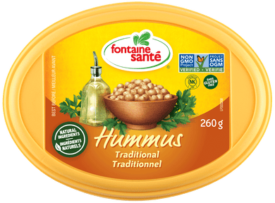 Fontaine Sante Traditional Hummus (260g)