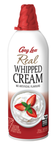 Gay Lea Real Whipped Cream (225g)
