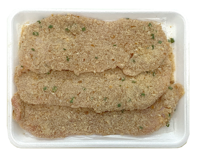 Grain Fed Breaded Veal Leg Cutlets