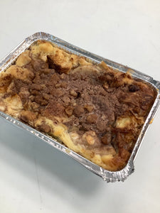 Apple Bread Pudding with Walnut Crumble (850g)