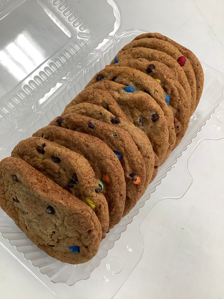 Gourmet Monster Cookies with M&M's (12pk/475g)