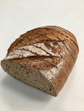 1/2 Loaf Light Rye Bread - Sliced (430g)