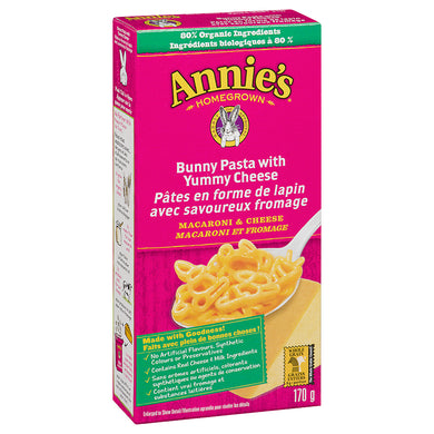 Annies All Natural Mac & Cheese Bunny Shape With Yummy Cheese (170g)