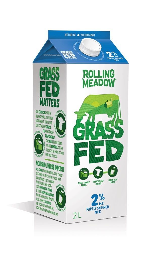 Rolling Meadow 2% Grass Fed Milk (2L)