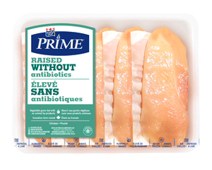 Maple Leaf Prime RWA Thin Sliced Chicken Breast Cutlets