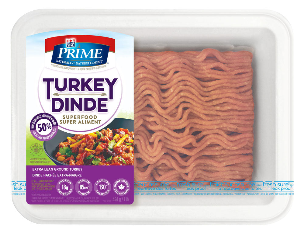 Maple Leaf Prime XLean Ground Turkey