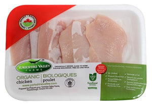 Yorkshire Valley Farms Organic Chicken Breast Scallopini FP