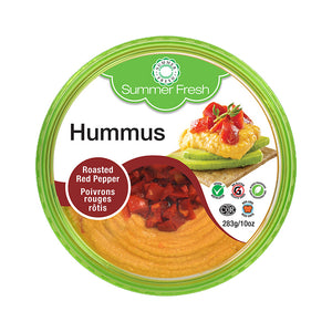 Summer Fresh Roasted Red Pepper Hummus - Toppers (283g)