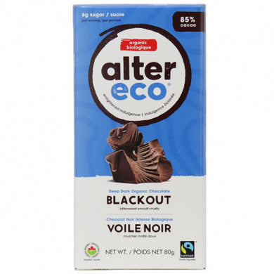 Alter Eco Organic Chocolate Blackout (80g)