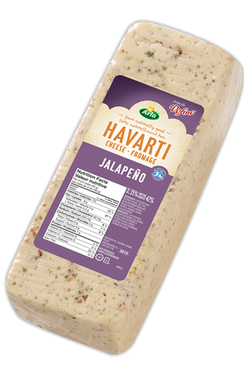 Arla Dofino Jalapeno Havarti Cheese (Thin Deli Sliced)