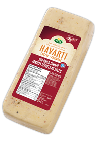 Arla Dofino Sundried Tomato Havarti Cheese (Thin Deli Sliced)