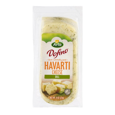 Arla Dofino Dill Havarti Cheese (Thin Deli Sliced)