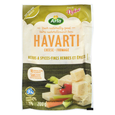 Arla Dofino Herb & Spice Havarti Cheese (Thin Deli Sliced)