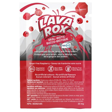 AOR Lava Rox Oral-Biotic Raspberry (1 pcs)