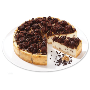 Caramel Brownie Cheesecake Supreme