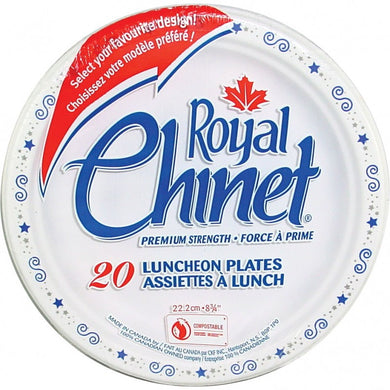 Royal Chinet Luncheon Plates (20 cnt)