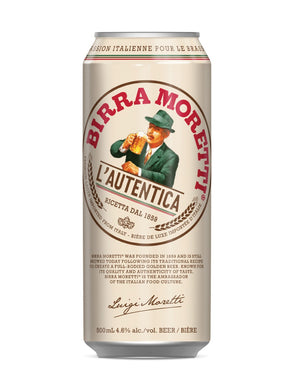 Birra Moretti (500mL can)