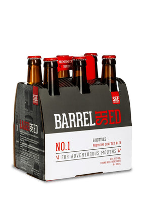 Barrel Shed Premium Crafted Beer (6x330ml)