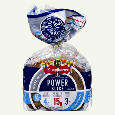 Dimpflmeier Power Slice Bread - Non GMO (400g)