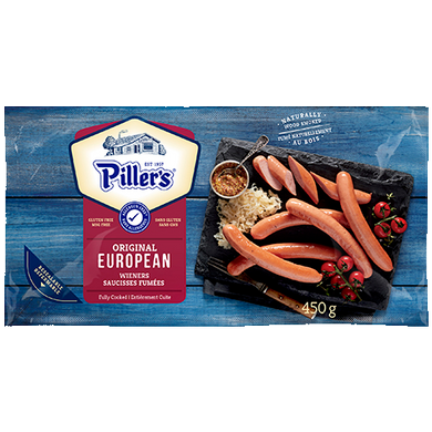 Piller's European Wieners (450g)