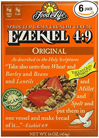Ezekiel Sprouted Cereal Original - Organic - Kosher (454g)
