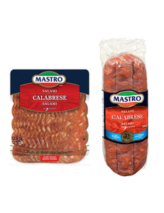 Mastro Calabrese Salami Hot (Thin Deli Sliced)