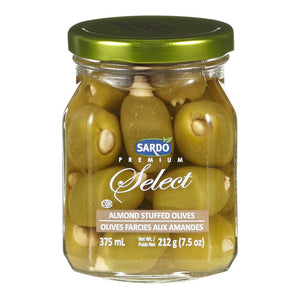 Sardo Premium Select Olives (375ml)