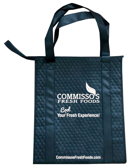 Commisso's Reusable Insulated Shopping Bag