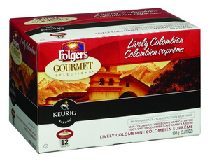 Folgers K-Cup Lively Colombian (108g)