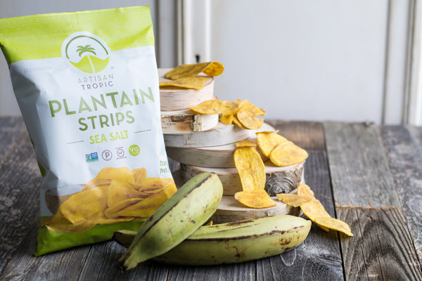 Sea Salt Plantain Strips