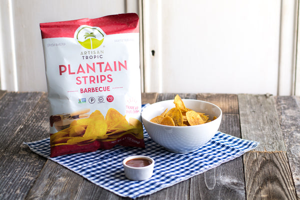 Barbecue Plantain Strips