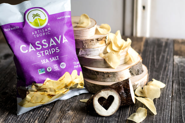 Sea Salt Cassava Strips