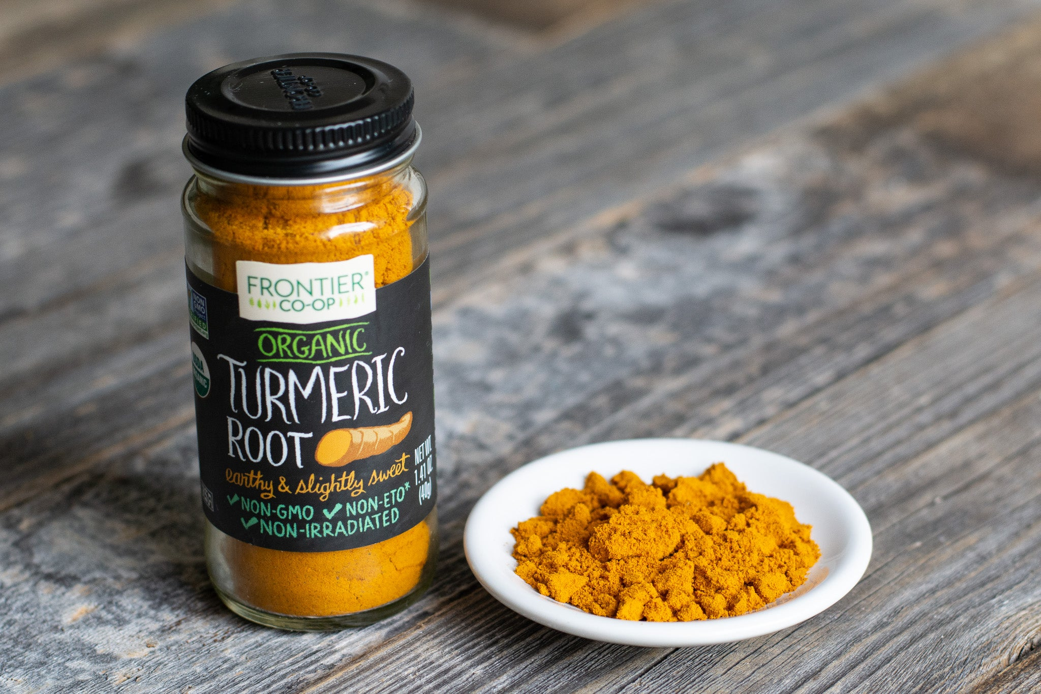 Organic Ground Turmeric Root